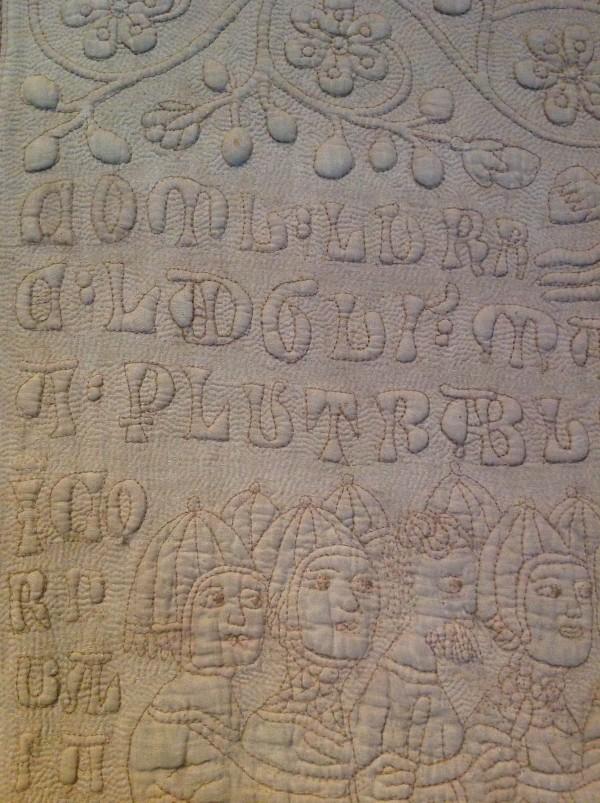 V&A Tristan Quilt. Medieval Textiles (Ruth Singer) (10 of 10)