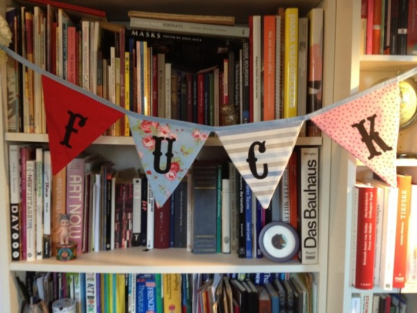 Fuck Cunting - Incredibly Rude Bunting