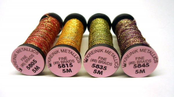 Metallic Braids by Kreinik