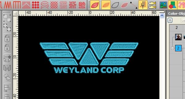 Weyland Corp Cosplay Design