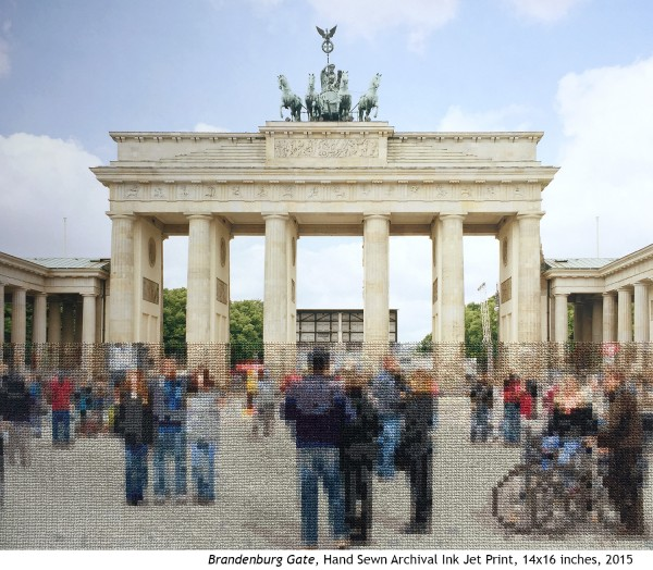 Diane Meyer - Brandenburg Gate - Cross Stitch