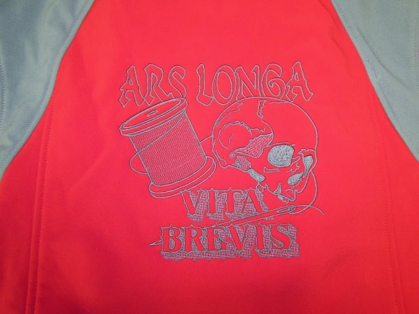 Erich Campbell - Ars Longa Vita Brevis - Machine Embroidery