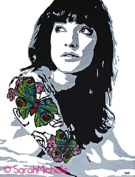 SarahMichelle - Embroidered Tattoo #1