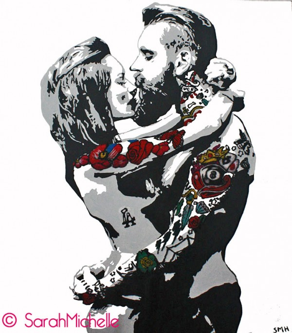 SarahMichelle - Tattooed Couple #1