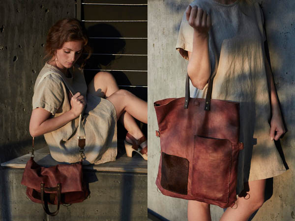 Custom leather accessories by Jenna Lagonigro