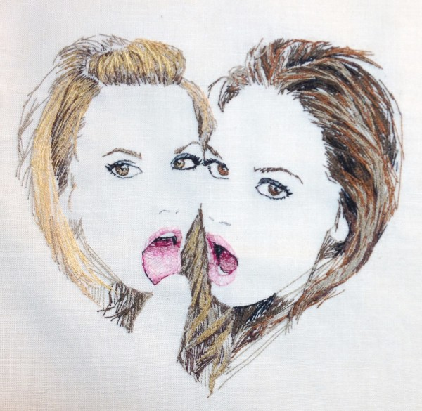 Lexi Belle and Tori, detail.