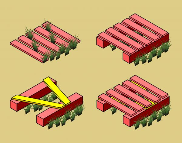 Underlay - Isometric Boardwalk Example