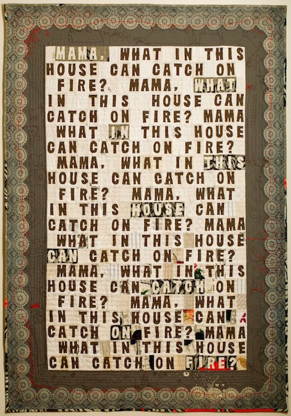 Spontaneous Combustion, Amy Meissner, Textile Artist
