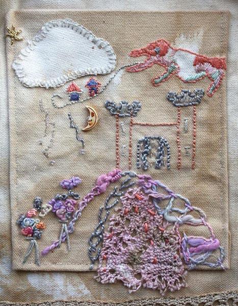 Castle Pocket close-up, by Ailish Henderson