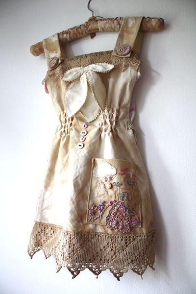 """""""Castles in the Sky"""" dress, by Ailish Henderson"""