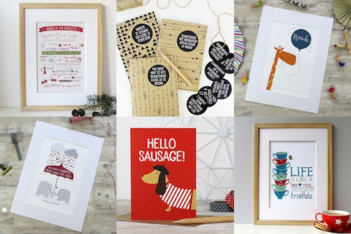 Illustrated Prints, Stationary and Gifts by Wink Design