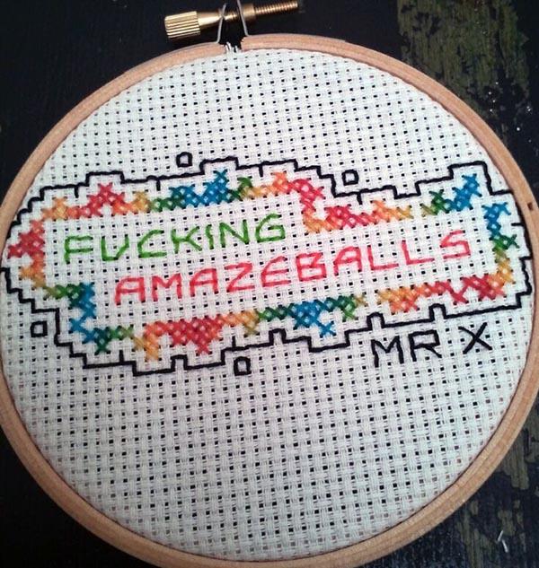 Fucking Amazeballs, Mr X Stitch