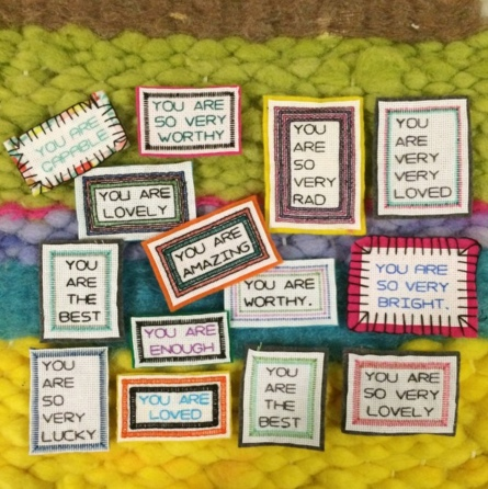 Photo and affirmations by Betsy Greer.
