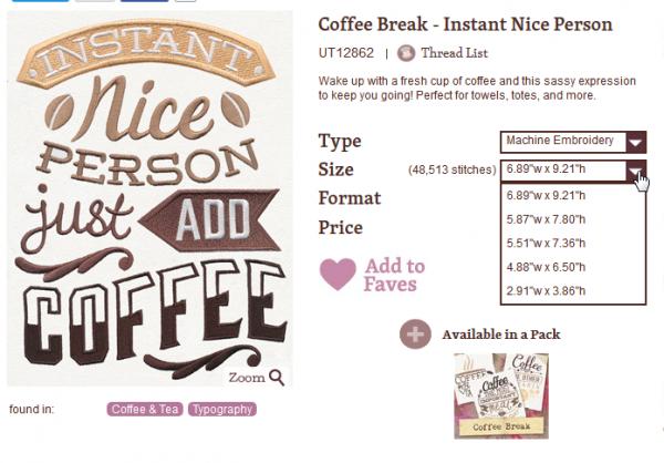 Urban Threads Coffee Design