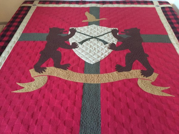 Dale Rowse - Heraldry Quilt