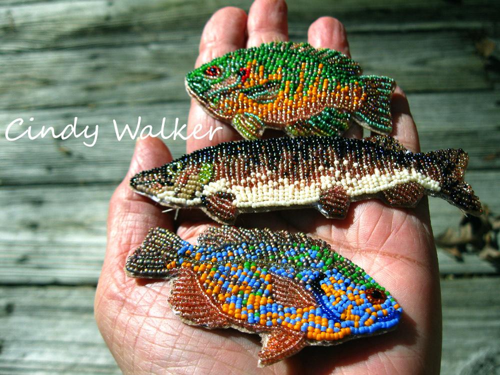 Cindy Walker's Beaded Fish