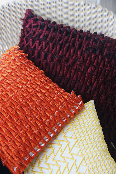 Cushions by Alice Selwood