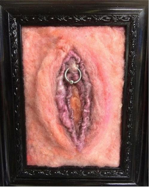 Jinjavitis - Vagina - Needle Felting