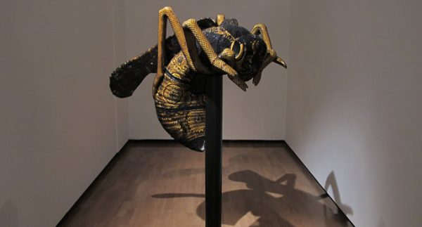 Joana Vasconcelos Wasp Photo Credit: Evie Milo