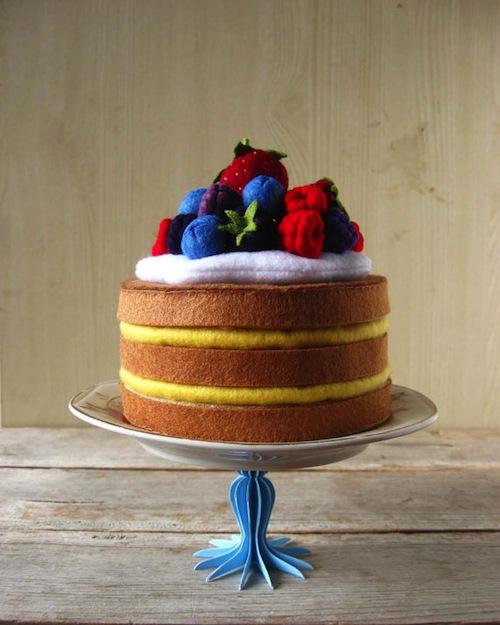 Milkfly - Felt Layer Cake