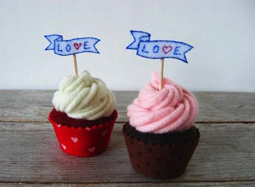 Milkfly - Felt Cupcakes
