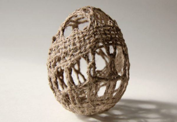 Manca Ahlin - The Earth Egg - Lacework Installation
