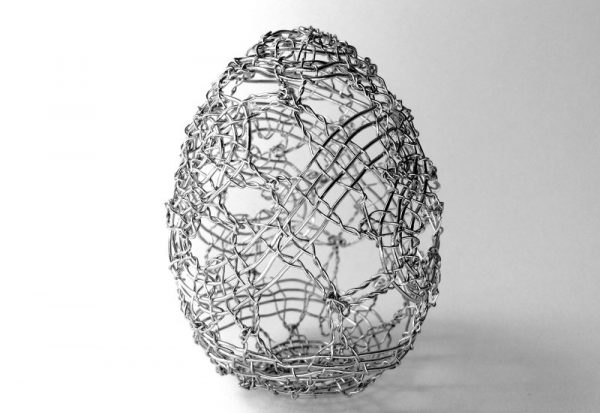Manca Ahlin - The Cosmic Egg - Lacework Installation