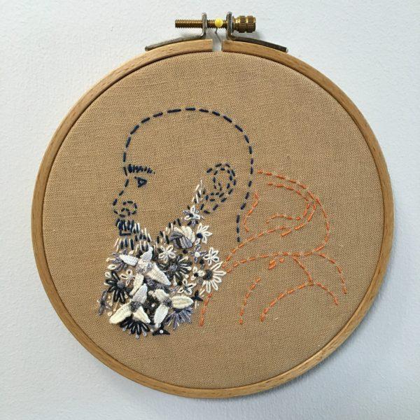 Flower Beard, Peter. By Rebecca Levi.