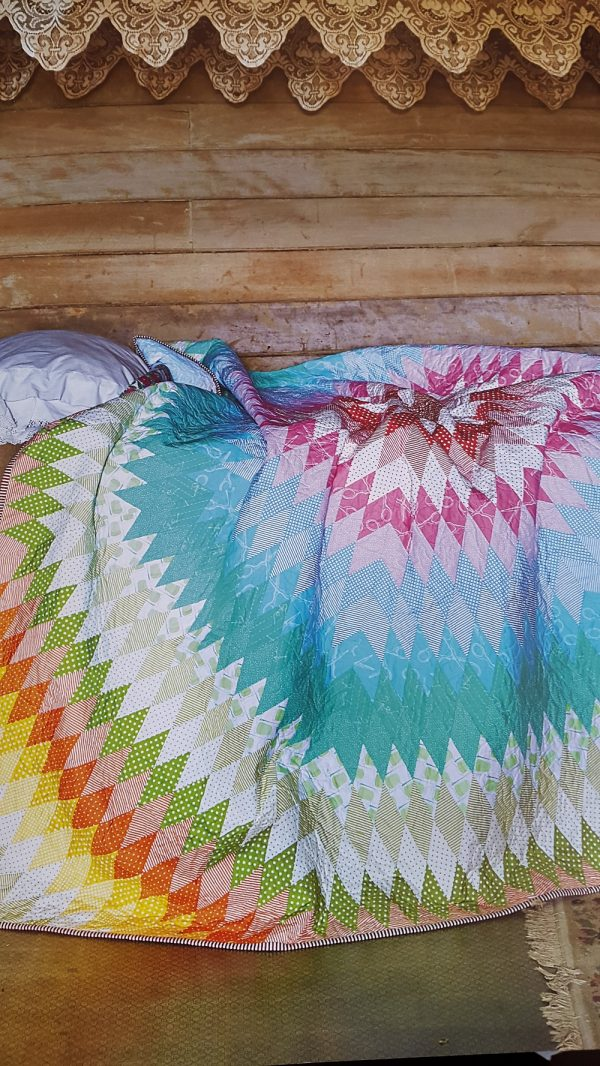 Sarah Fielke - Old Quilts, New Life