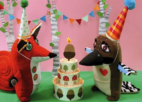 Stitched Creatures - Birthday