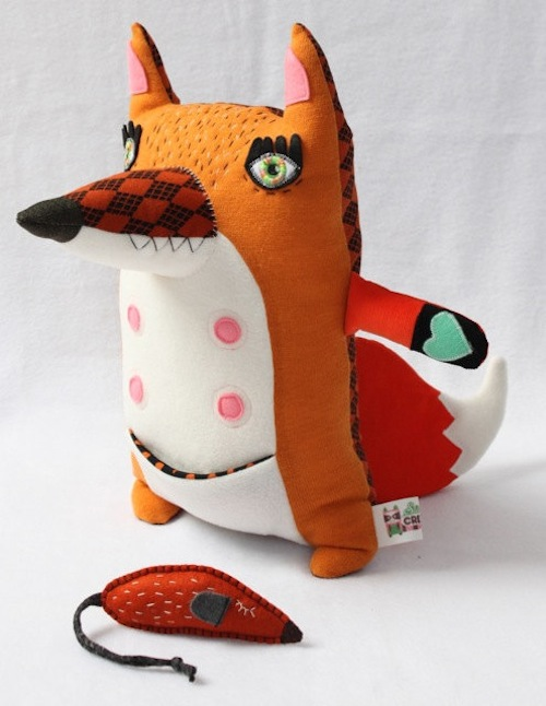 Stitched Creatures - Olaf the Red Fox