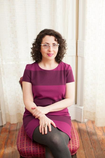Portrait of the artist, Rebecca Levi. Photo by Zoe Diamont.