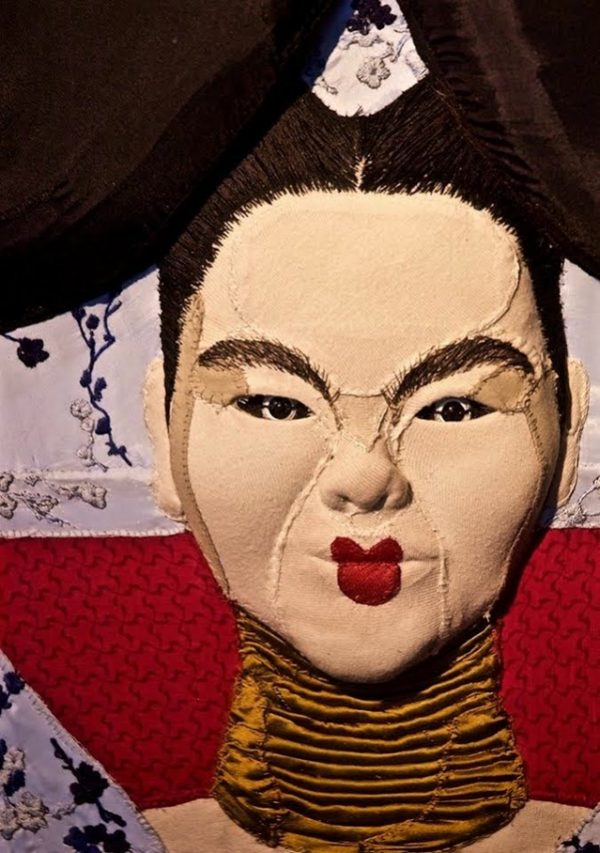 Jess de Wahls - Bjork - Mixed Media