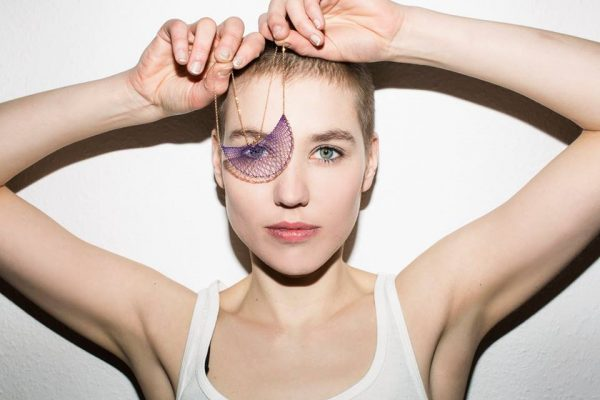 Stefanie Mittman, InLace Jewelry - Klara Collier Photo Credit: Delia Baum