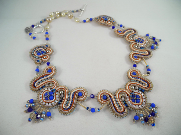 Cure for Mo formal necklace, by Amee K. Sweet-McNamara