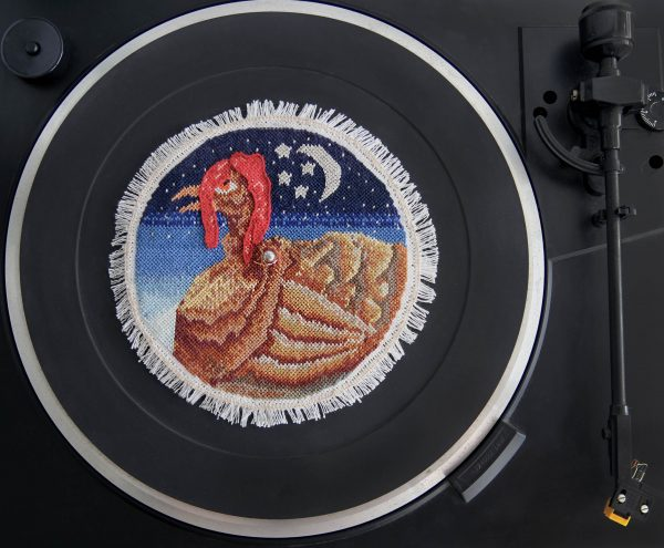 Eran Inbar - Off The Record - Hand Embroidery