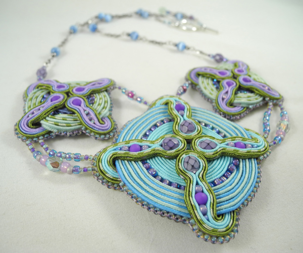 Four Elements necklace, by Amee K. Sweet-McNamara
