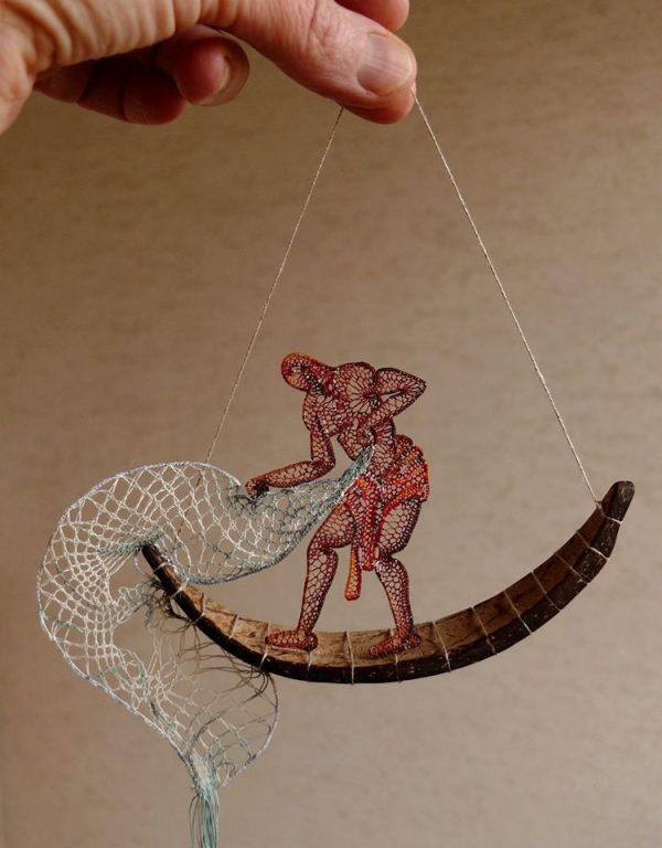 Agnes Herczeg - Lace & Coconut Shell