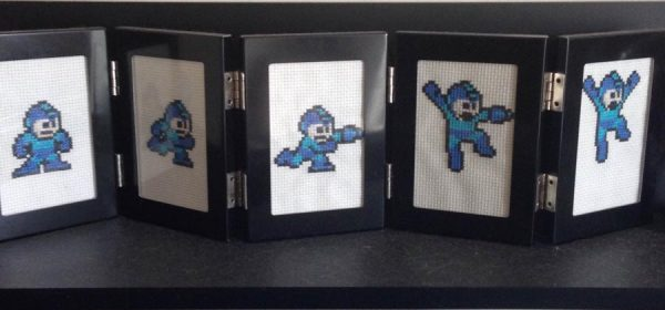 Kari found video games and cross stitch to be a perfect match in her hobby heart. She's one of many to feel that way.