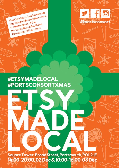 PortsConsort - Etsy Made Local 2016 Poster