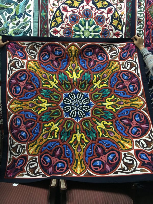 The beauty of Khayamiyas - colourful embroidered tent panels