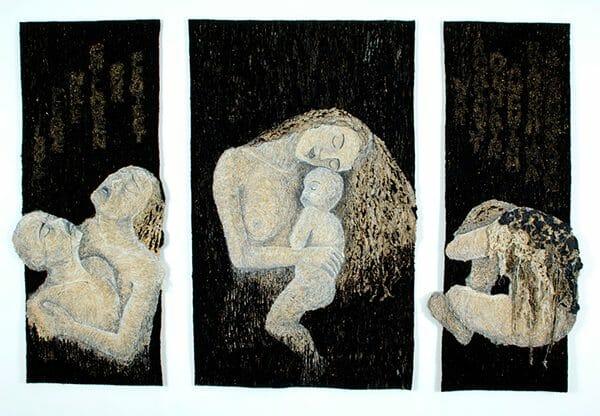 Yumiko Reynolds - Hiroshima Triptych Black Rain Never Again