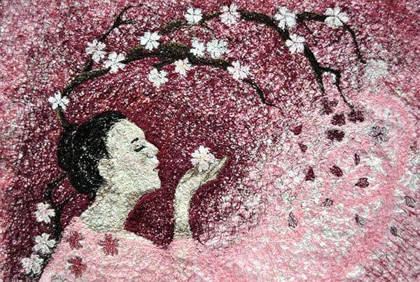Yumiko Reyonlds - A Secret Message- Sakura (Cherry Blossom)