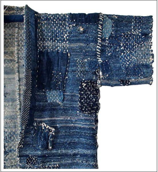 Sashiko Machibikeshi Jacket (detail)