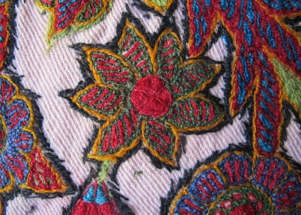 Patteh Embroidery (detail)