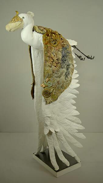 Shoebill II, by Sally Wilson