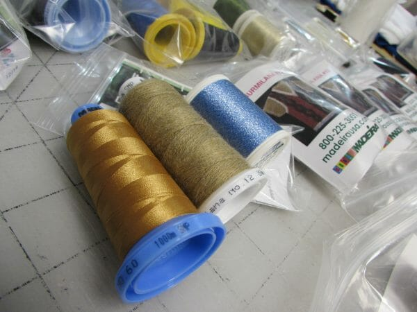 Madeira Thread Samples