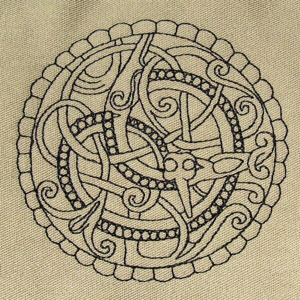 Pitney Brooch Embroidery Design