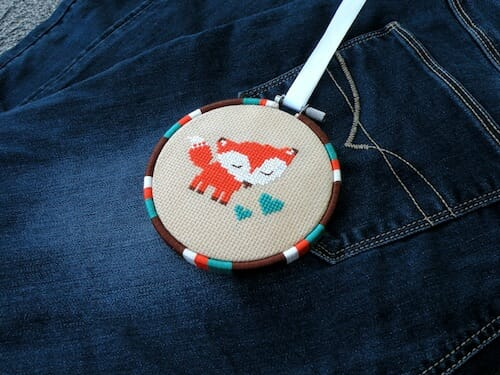 Lucky Star Stitches - Cute Fox