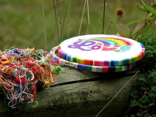 Lucky Star Stitches - Love Rainbow